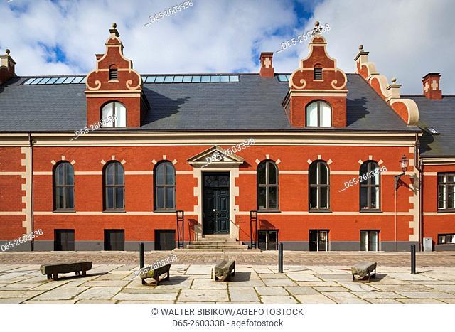 Denmark, Jutland, Ribe, Ribe Kunstmuseum, art museum, exterior