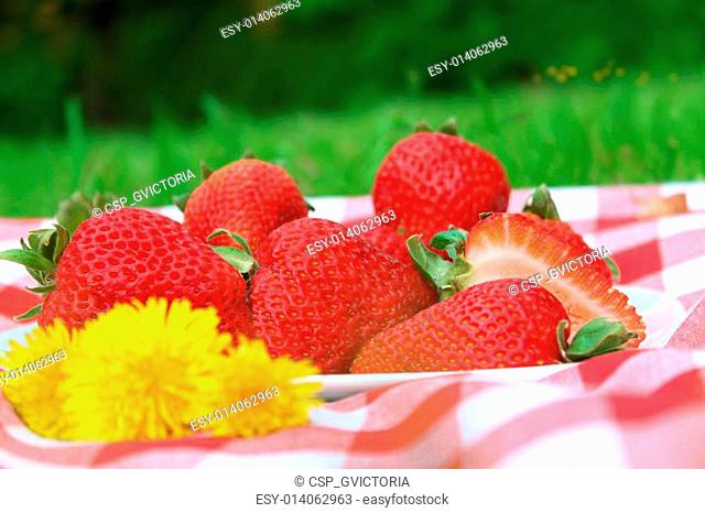 Strawberry picnic