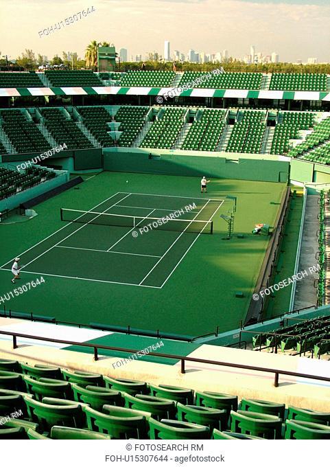 Key Biscayne, Miami, FL, International Tennis Center
