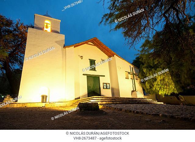 Humauaca church. Humahuaca. Province of Jujuy. Argentina. South America