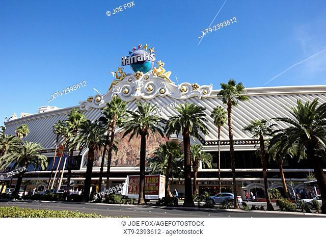 Harrahs resort and casino Las Vegas Nevada USA