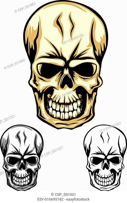 skull color dwa