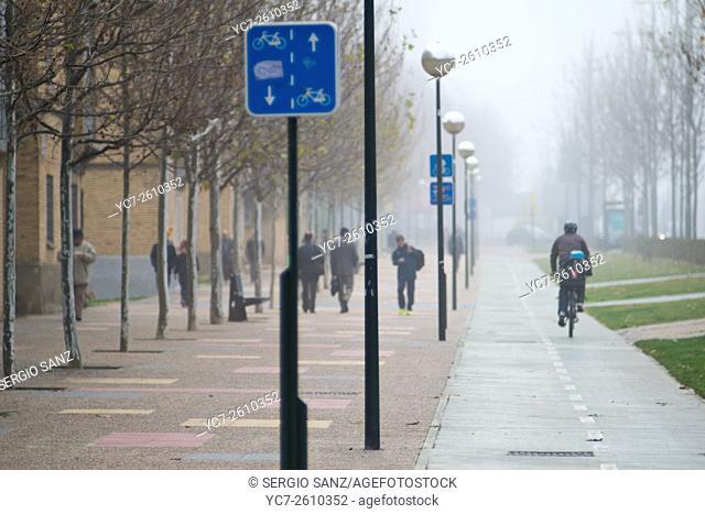 Cycle line, Zaragoza