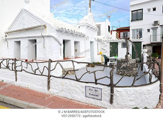 Es Grau, traditional house. Minorca Biosphere Reserve, Balearic Islands, Spain