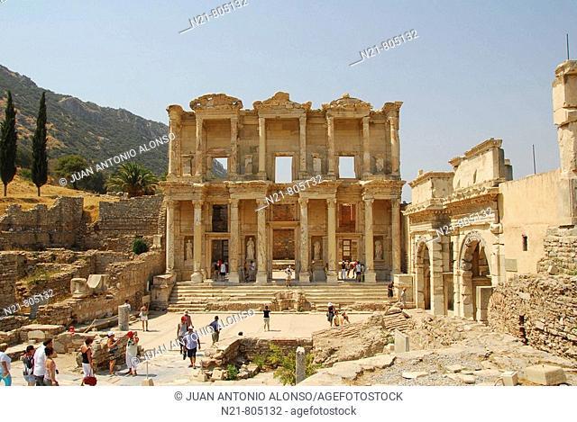 Celsus Library, Ephesus, Selçuk, Turkey
