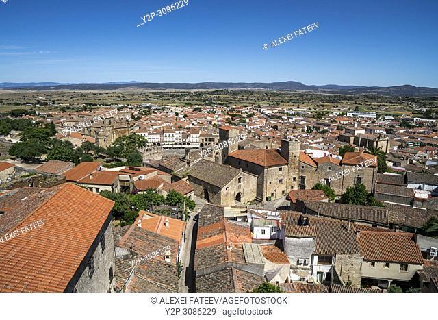 Trujillo, a small town in Extremadura, Spain