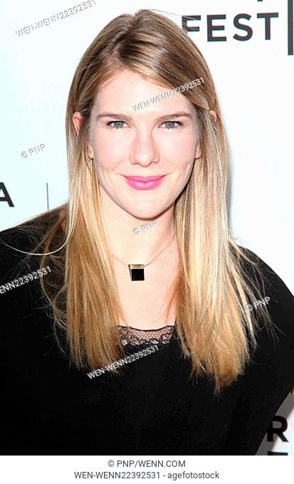 2015 Tribeca Film Festival world premiere of 'Live From New York' held at The Beacon Theatre - Arrivals Featuring: Lily Rabe Where: New York City, New York