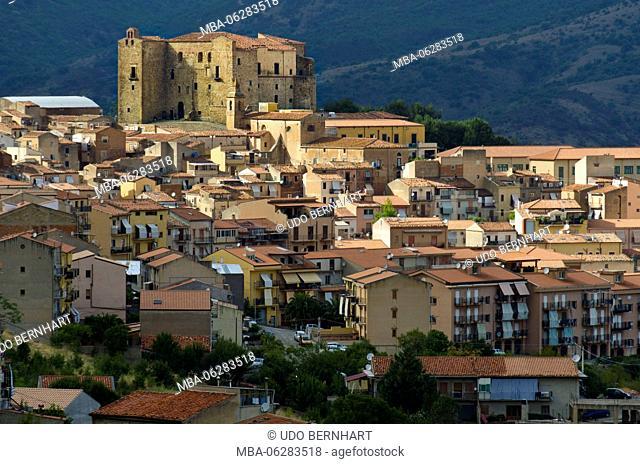 Italy, southern Italy, Sicily, Sicilia, Parco regional delle Madonie, Castelbuono