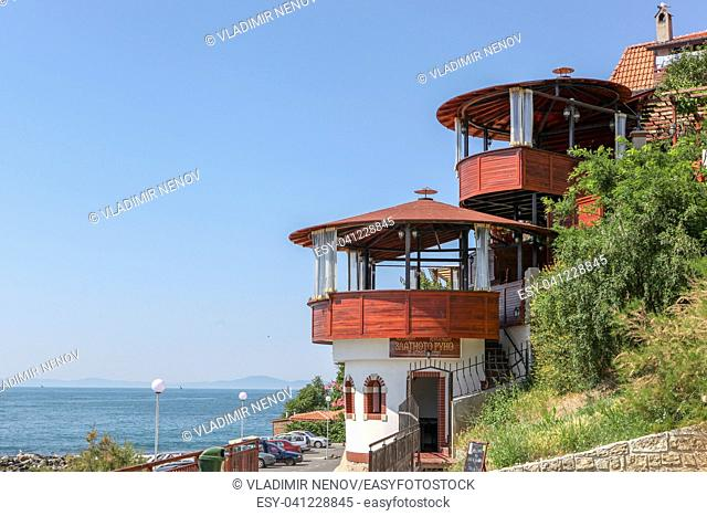 View From The Beautiful Sea Town Of Nessebar, Bulgaria