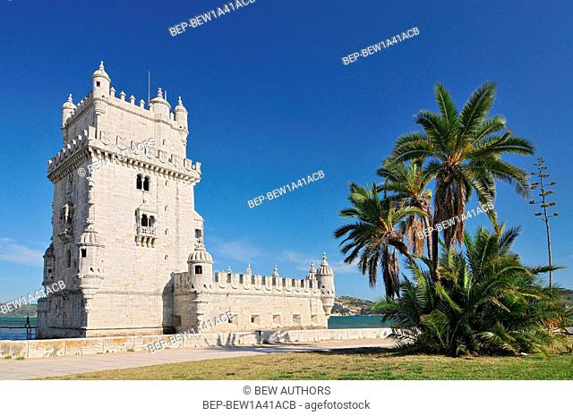 Portugal, Lisbon, Belem Tower