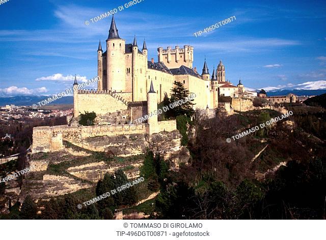 Spain, Castilla y Leon, Segovia, Alcazar