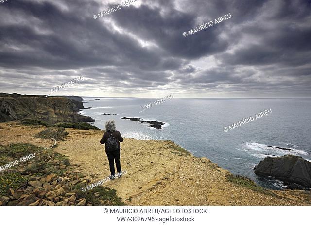 Ponta da Atalaia da Arrifana. Sudoeste Alentejano and Costa Vicentina Nature Park, Portugal