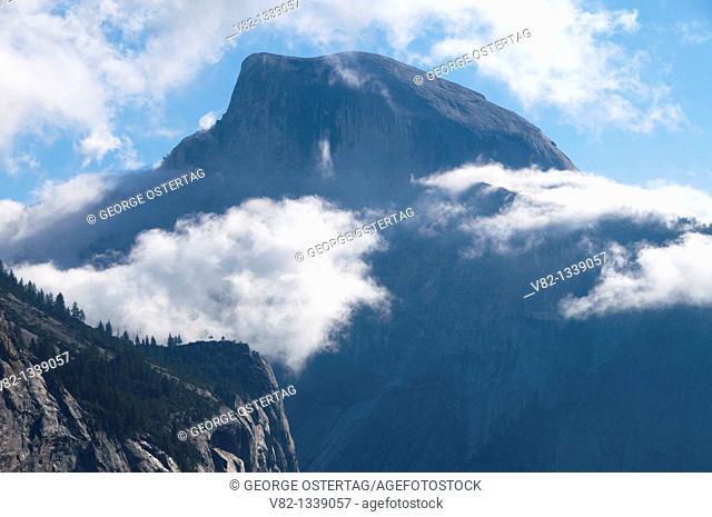 Half Dome from Yosemite Falls Trail, Yosemite National Park, California