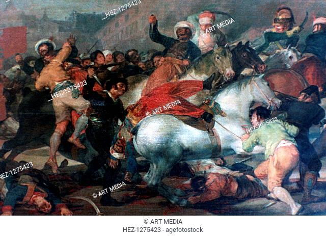 'The Second of May 1808: Charge of the Mamelukes', 1814. Commissioned in 1814, after the expulsion of Napoleon's army from Spain