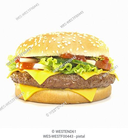 Cheeseburger, hamburger