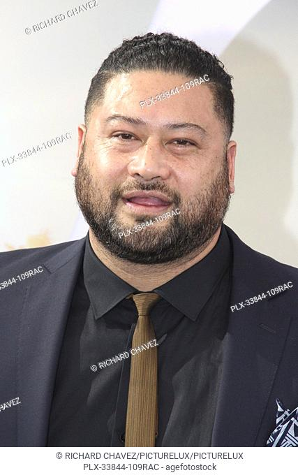 "John Tui at the Universal Pictures World Premiere of """"Fast & Furious Presents: Hobbs & Shaw"""". Held at the Dolby Theater in Hollywood, CA, July 13, 2019"