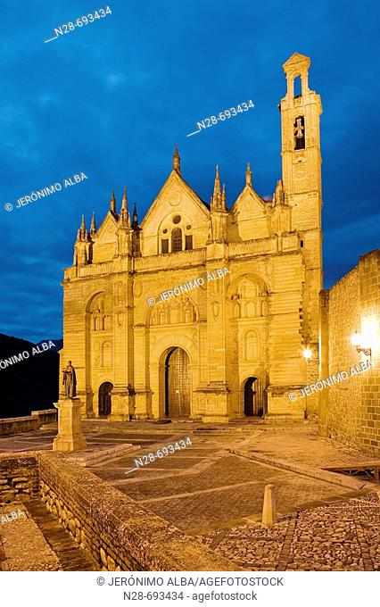 St. Mary's collegiate church (16th century), Antequera. Málaga province, Andalusia. Spain
