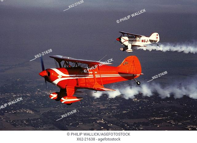 Pitts Special aerobatic biplanes
