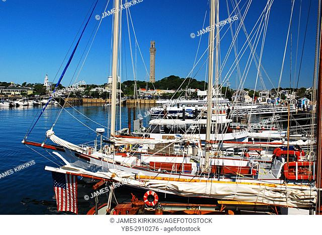 Summer Day on Provincetown Harbor, Cape Cod