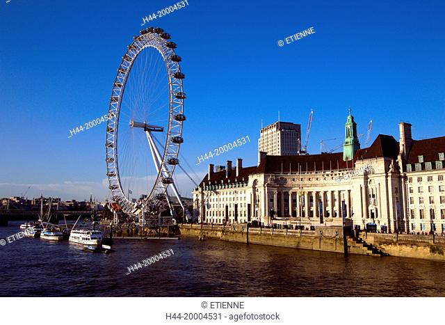 London Eye and Lantern in London
