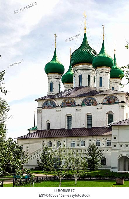 Cathedral of the Entry of the Theotokos into the Temple of Jerusalem in Tolga Monastery about Yaroslavl, Russia