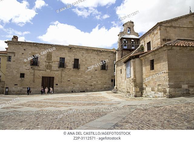 Santa Lucia romanesque church in Zamora Castile Leon Spain