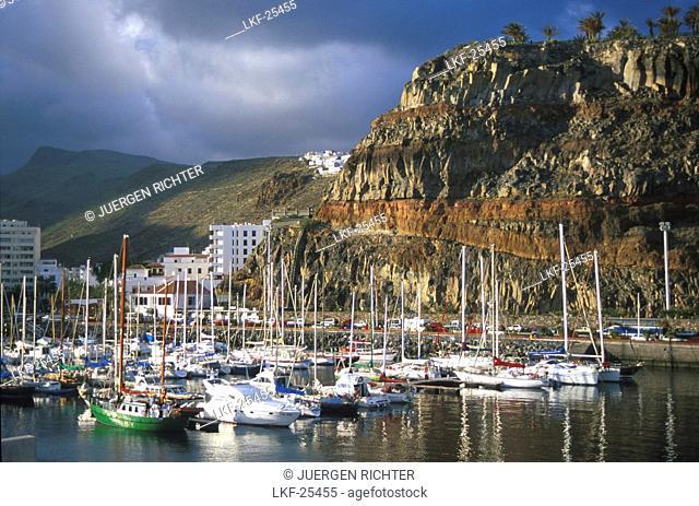 HArbour of San Sebastian, San Sebastian, La Gomera, Canary Islands, Spain
