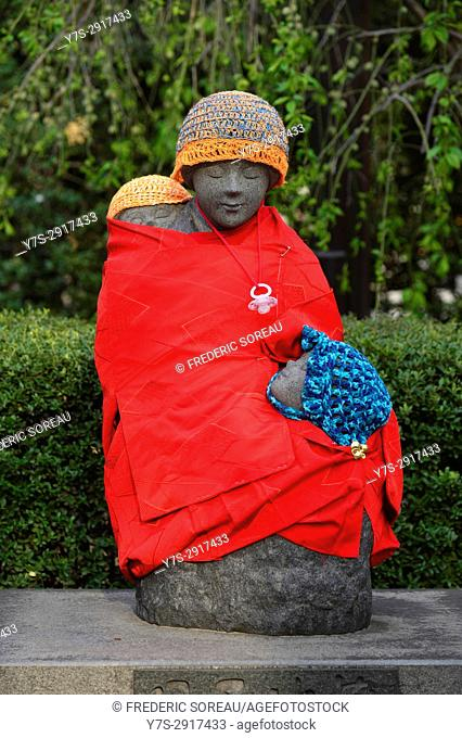 Mother and child statue,Senso-ji temple,Tokyo, Japan,Asia