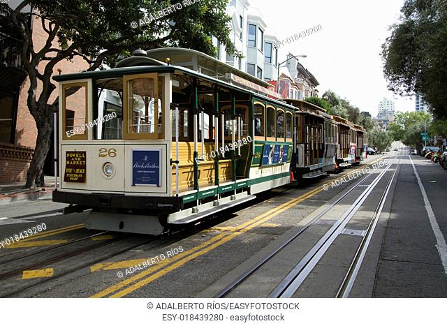Trams are one of the symbols of San Francisco, the system began in 1874 inspired by mine works wagons. . Currently there are three routes with 50 trams covering...