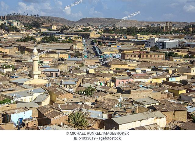 Overlooking the city, Asmara, Eritrea