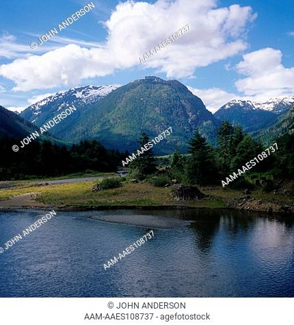 Buttle Lake, Strathcona Park, Vancouver Island, British Columbia, Canada