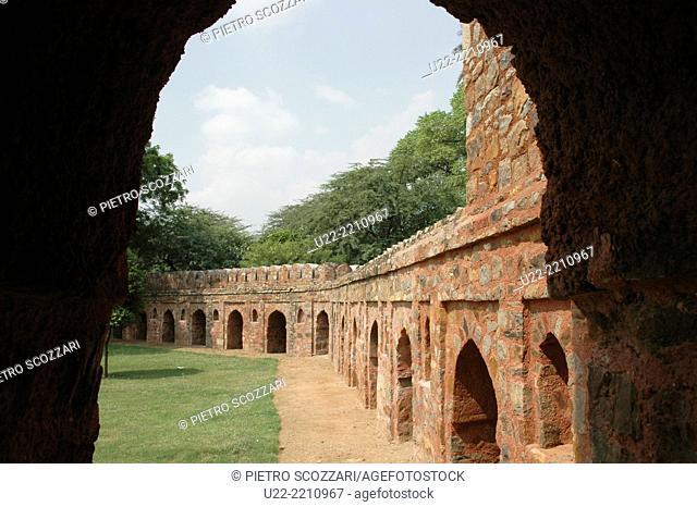 Old Delhi, India: Agra Fort