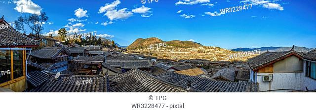 Dayan ancient town;Lijiang; Yunnan; China