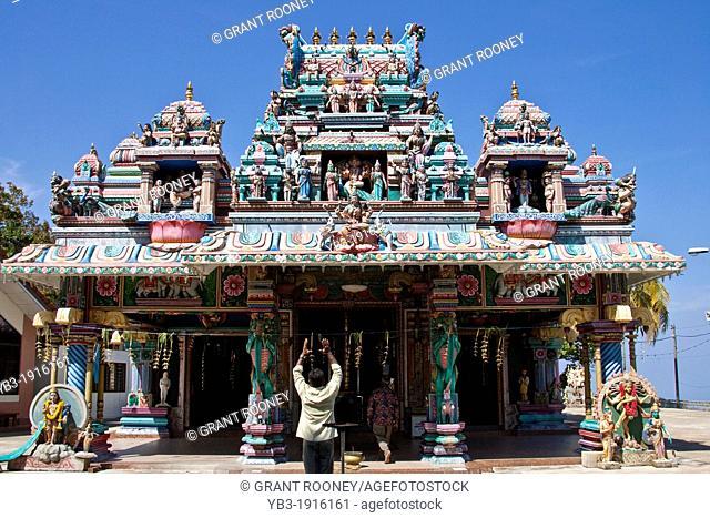Hindu Indian Temple, Penang Hill, George Town, Malaysia