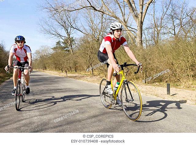 Cyclist overtaking