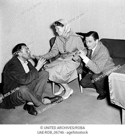 Der Richter von Zalamea, Fernsehfilm, Deutschland 1958, Darsteller