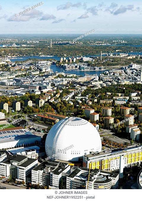 View of Stockholm Globe Arena, Stockholm, Sweden