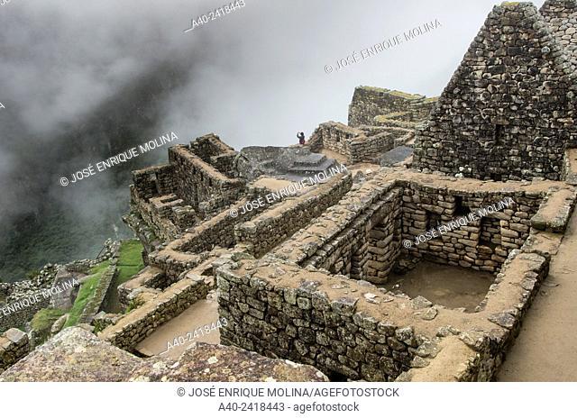 Archaeological site of Machu Picchu, Cusco, Peru.Condor Group