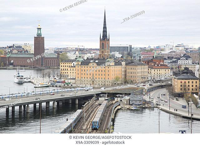 Cityscape of Stockholm; Sweden, Europe