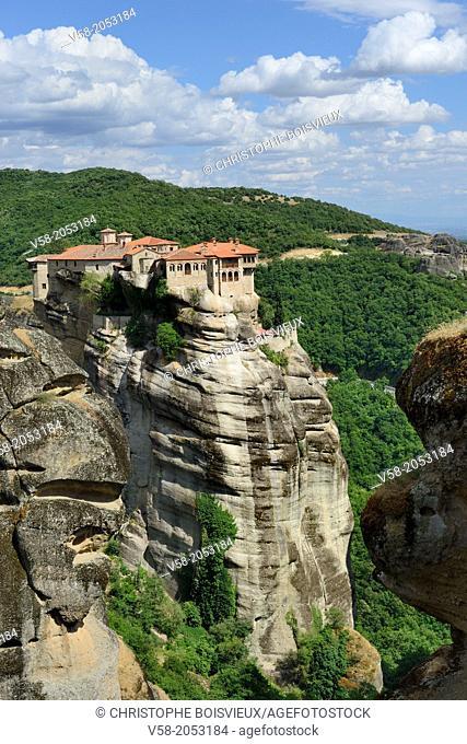 Greece, Thessaly, Meteora, World Heritage Site, Varlaam monastery