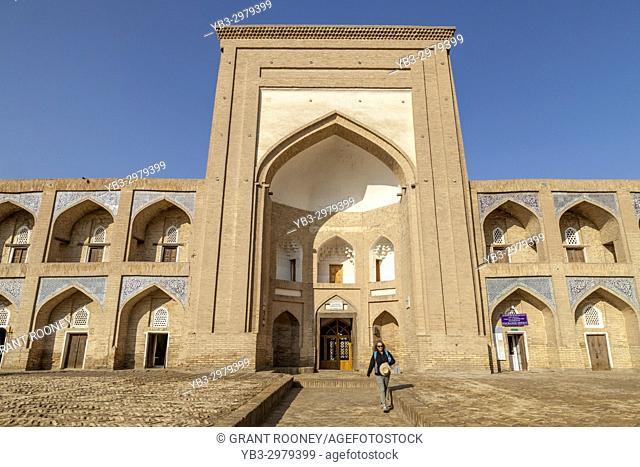 The Exterior Of The Qutlugh Murad Inaq Madrassa, Khiva, Uzbekistan