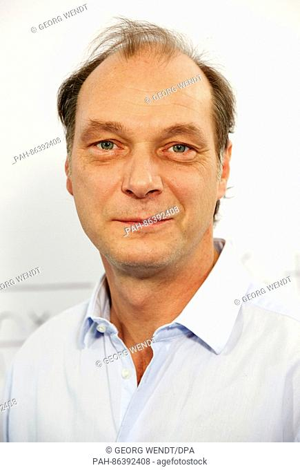 German actor Martin Brambach during a presentation of the new TV series 'Mrs. TemmeSearches for Happiness' produced by the public broadcaster ARD in Hamburg
