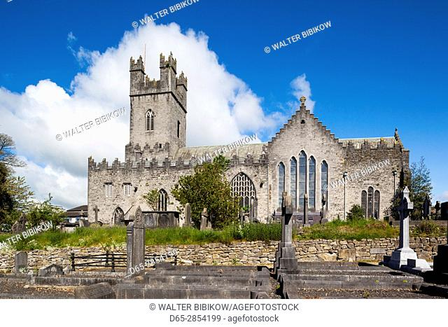 Ireland, County Limerick, Limerick City, St. Mary's Cathedral, exterior