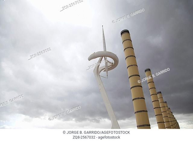 Barcelona Communication Tower on Mont Juic