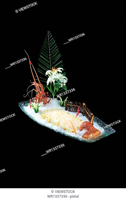 Fairview lobster sashimi