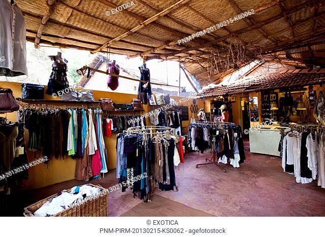 Clothes shop, La Muella, Arambol, North Goa, Goa, India