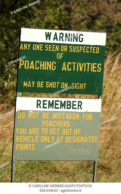 Poaching Warning in Zimbabwe