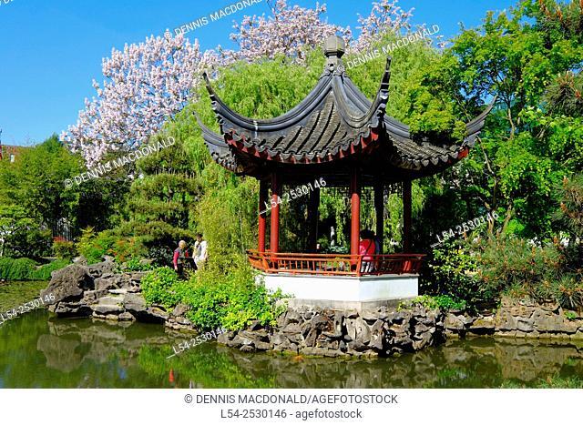 Dr. Sun Yat Sen Park Chinatown Vancouver British Columbia Canada