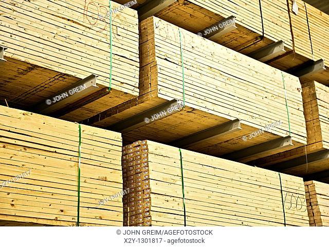 Wood building supplies
