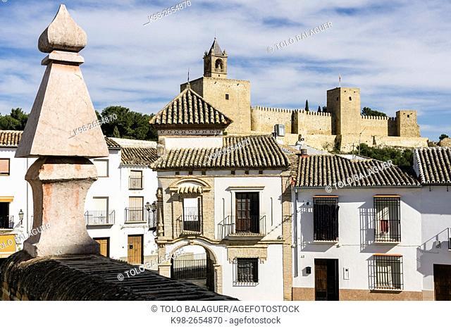 Alcazaba de Antequera, siglo XIV , Antequera,Andalucia, Spain